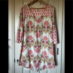 Lucky brand boho dress, size small
